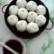 Stock Photo: Chinese dumplings