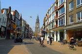 Buildings on Groningen — Stock Photo