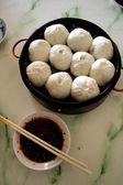 Kinesiska dumplings — Stockfoto