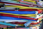 Colourful knitting needles. — Stock Photo