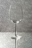 Empty Wine glasses — Stock fotografie
