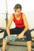 Kobiety ćwiczenia — Zdjęcie stockowe