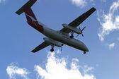 Speeding plane — Foto de Stock