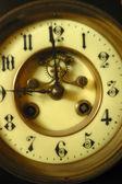Antique clock — Stok fotoğraf