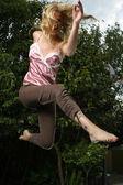 Exercices de femme — Photo