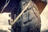 Hjulet motorcykel — Stockfoto