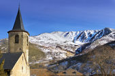 Romanesque church located in the Pyrenees — Stock Photo