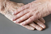 Two hands — Stock Photo