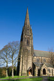 Old church in Parbold, Lancashire, England. — Stock Photo