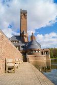 The Jachtslot Sint Hubertus Castle in Holland — Stock Photo