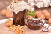 Walnut preserve — Stock Photo