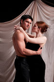 Regency couple — Stock Photo