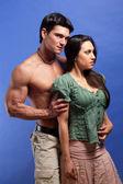 Sexy couples — Stock Photo