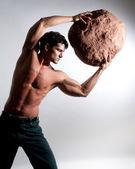 Strong man — Stock Photo