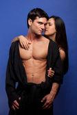 Sexy hot couple — Stock Photo