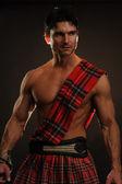 Hot highlander — Stock Photo