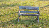 старые скамейки — Стоковое фото
