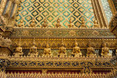 Buddhas in Wat Phra Kaew — Stock Photo