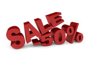 Red text SALE — Stock Photo