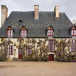 Stock Photo: A house at Chenonceau