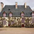 Stock Photo: House at Chenonceau