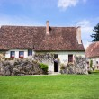 Stock Photo: Farmhouse at Chenonceau, France