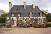 A house at Chenonceau — 图库照片