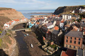 Staithes Estuary, East Yorkshire, England — Stock Photo