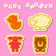 Baby shower — Stock Vector #51290893