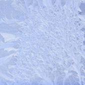 Modello naturale gelida sulla finestra invernale — Foto Stock