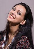 Beautiful brunette girl. — Stock Photo