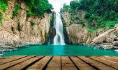Haew Narok (chasm of hell) waterfall, Kao Yai national park, Thailand — Stock Photo