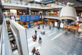 CCTV Camera Operating inside a station or department store — Foto Stock