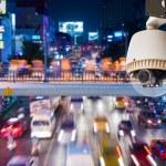 CCTV Camera operating — Stock Photo #47672563