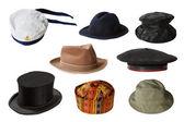 Conjunto de sombreros — Foto de Stock