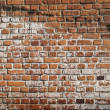 Old and dirty brick wall — Stock Photo