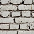 Old brick wall painted — Stock Photo