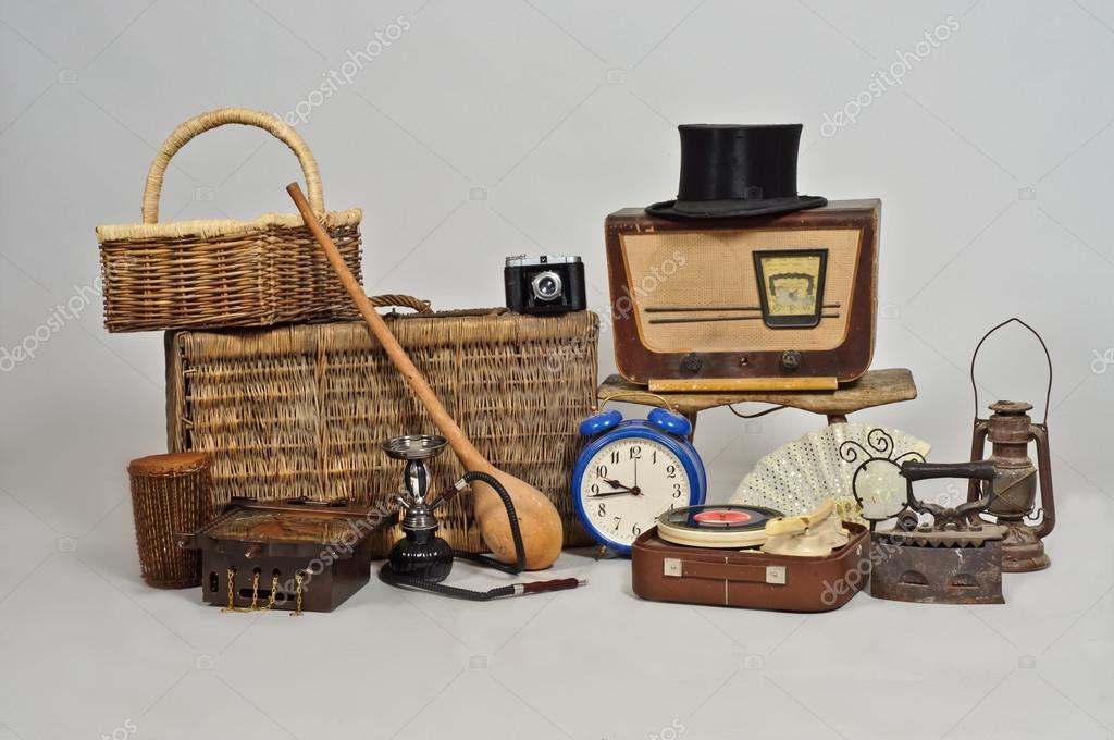 Objetos vintage fotografias de stock paulmalaianu - Objetos vintage ...