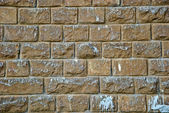 Old and dirty stone wall — Stock Photo