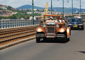 Vintage car in Budapest, Hungary — Stock Photo