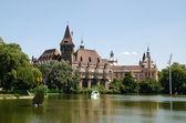 Vajdahunyad castle in Budapest — Stock Photo