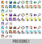 Pro-icons-1 — Stock vektor