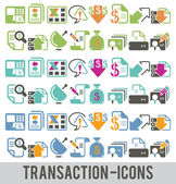 Transaction-icons-1 — Stock Vector
