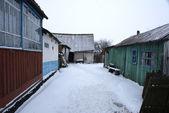 村の古いヤード — ストック写真