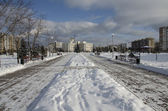 Park in Winter — Stock Photo