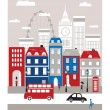 London city. — Stock Vector