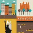 New York. — Stock Vector