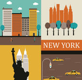 New York. — Stock Vector
