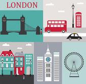 Símbolos de london.vector — Vector de stock