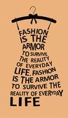 Fashion woman dress — Stock Vector